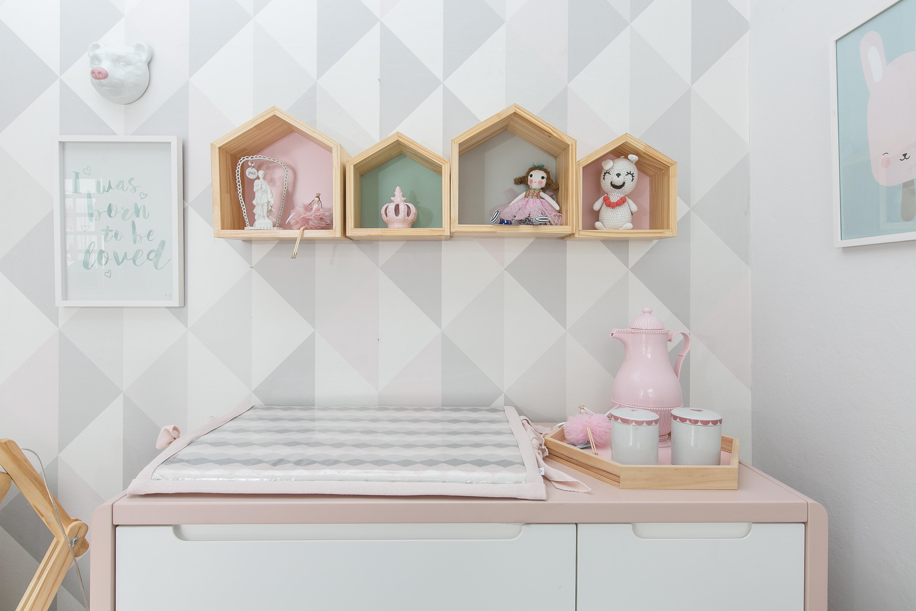 Os Nicho De Bebe ~ Nicho casinhaé tend u00eancia na decoraç u00e3o do quarto de beb u00ea