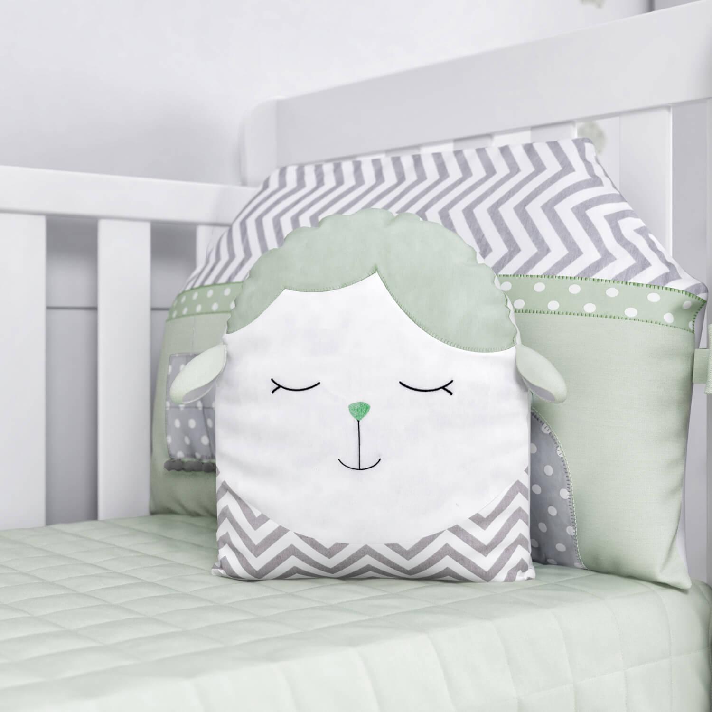 almofadas para quarto de bebê