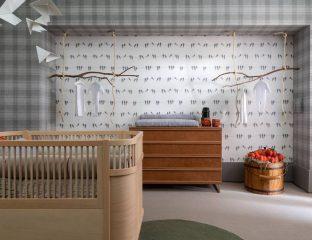 quarto de bebê da CASA COR São Paulo 2018