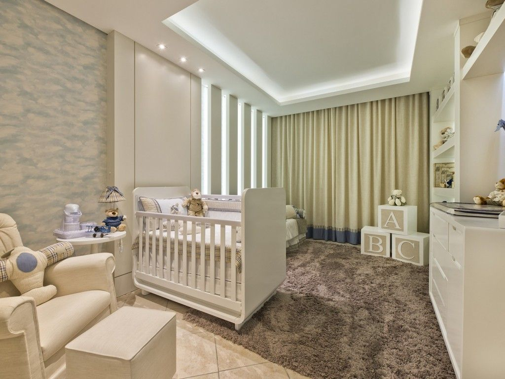quarto de bebê aviador