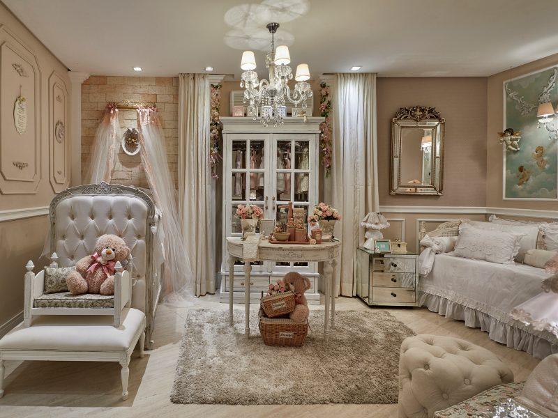 quarto de bebê provençal
