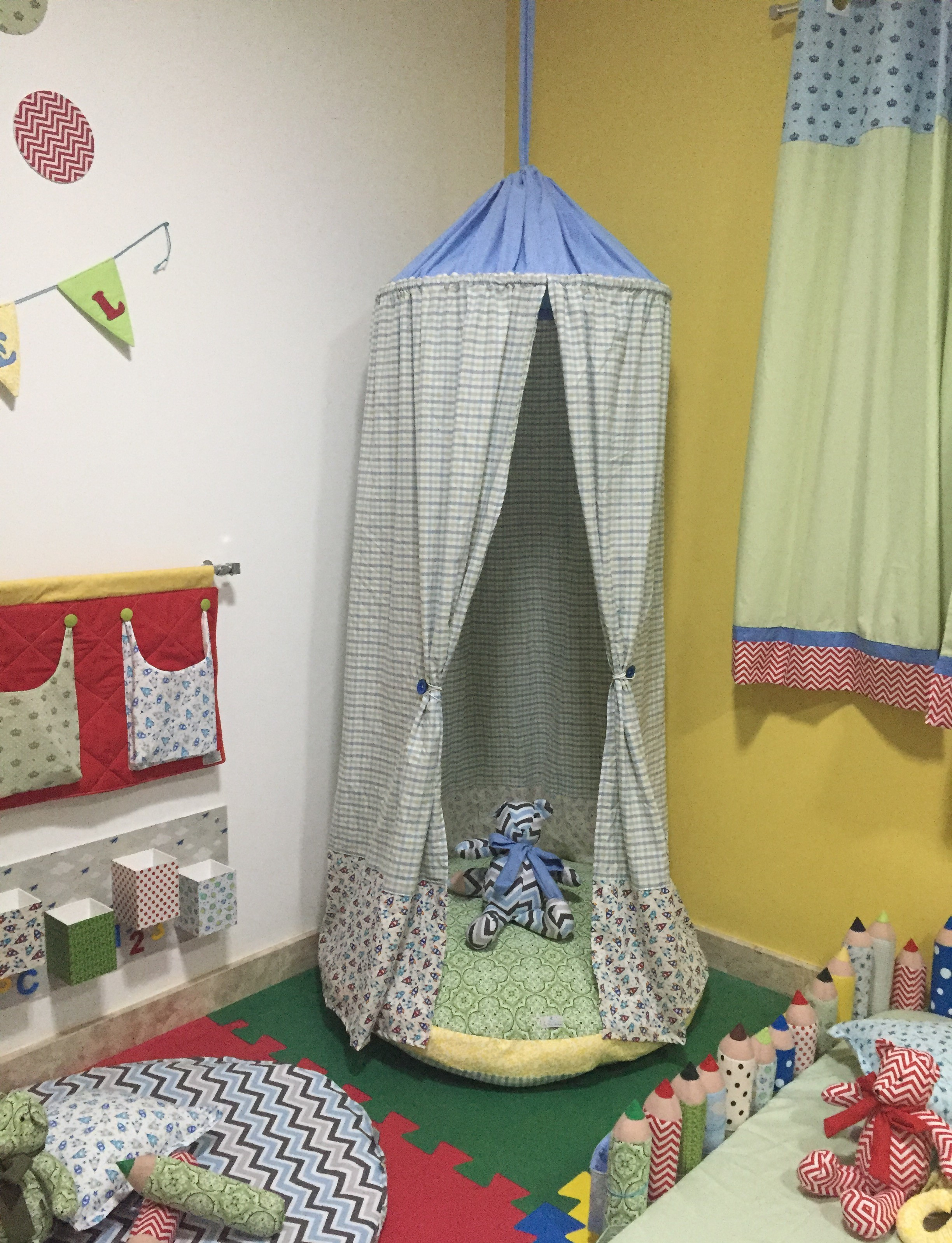 tenda montessoriana