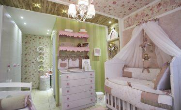 luminária para quarto de bebê