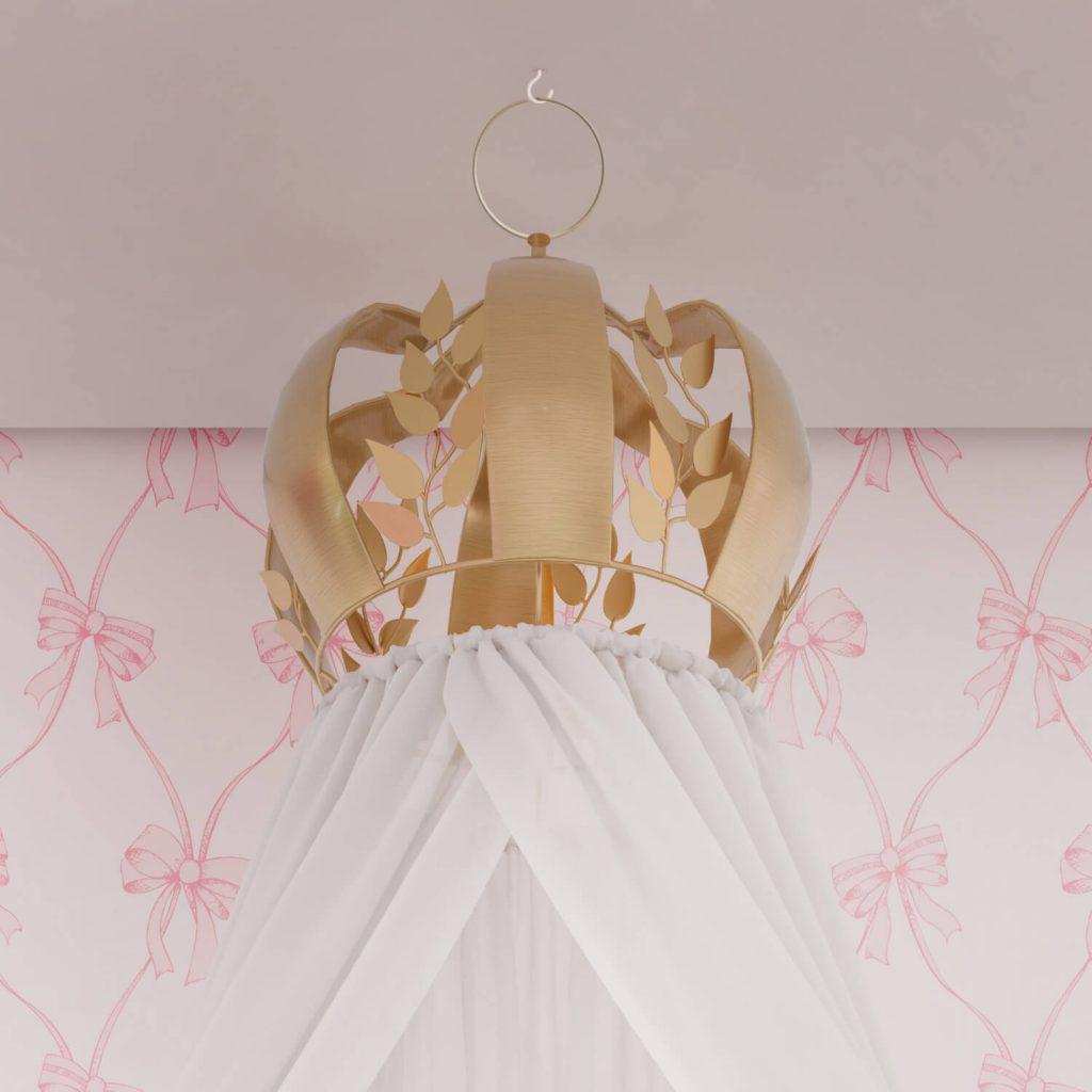 quarto de princesa clássico