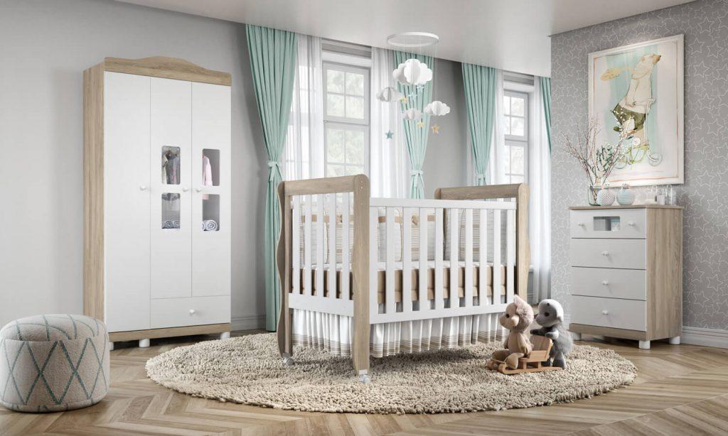 quarto de bebê dos sonhos