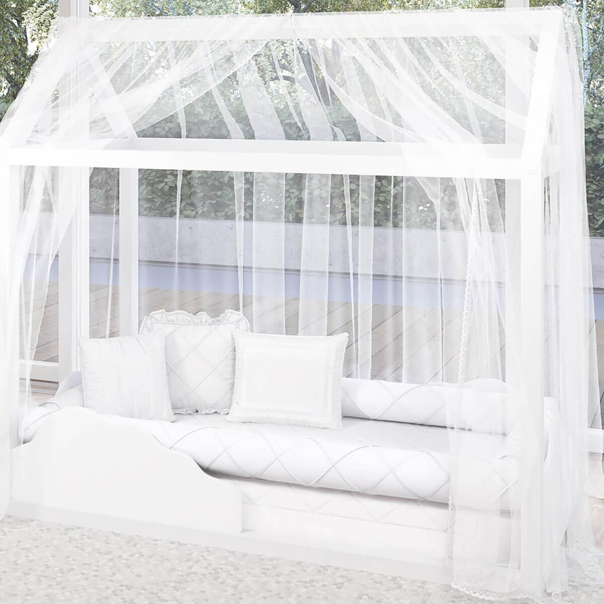 mosquiteiro para cama montessoriana