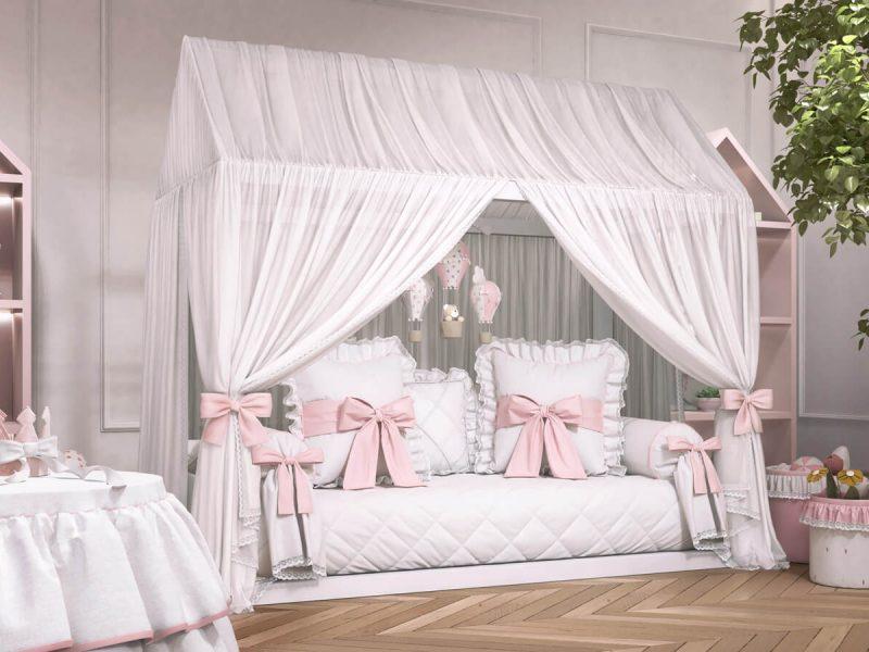 Resultado de imagem para cama com dossel moderna