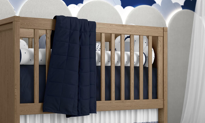 Quarto de Bebê Nuvem de Algodão