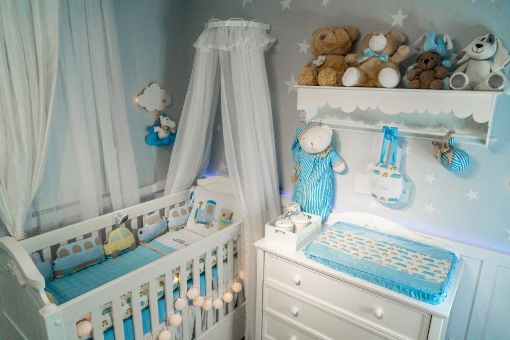 tours de quarto de bebê