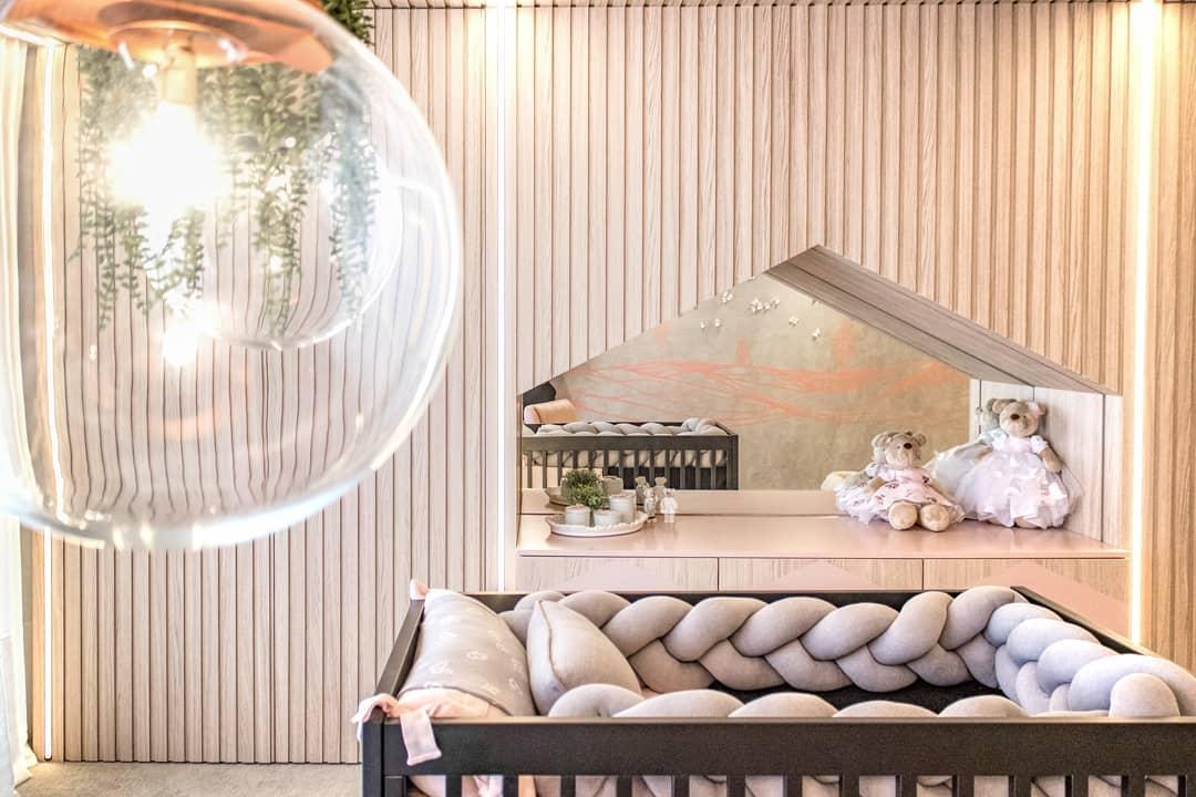 quarto de bebê da CASA COR Paraná