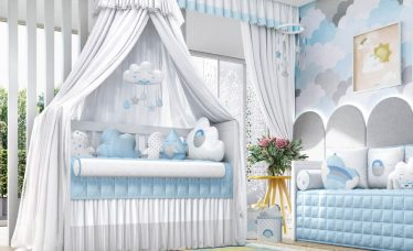 decoração nuvem