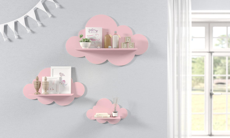 prateleira de quarto