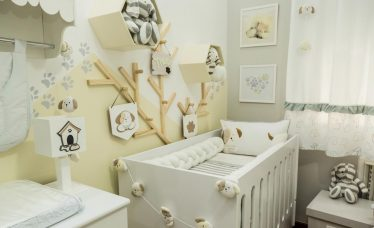 quarto de bebê cachorrinho