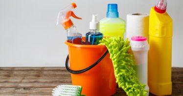 limpar o quarto de bebê