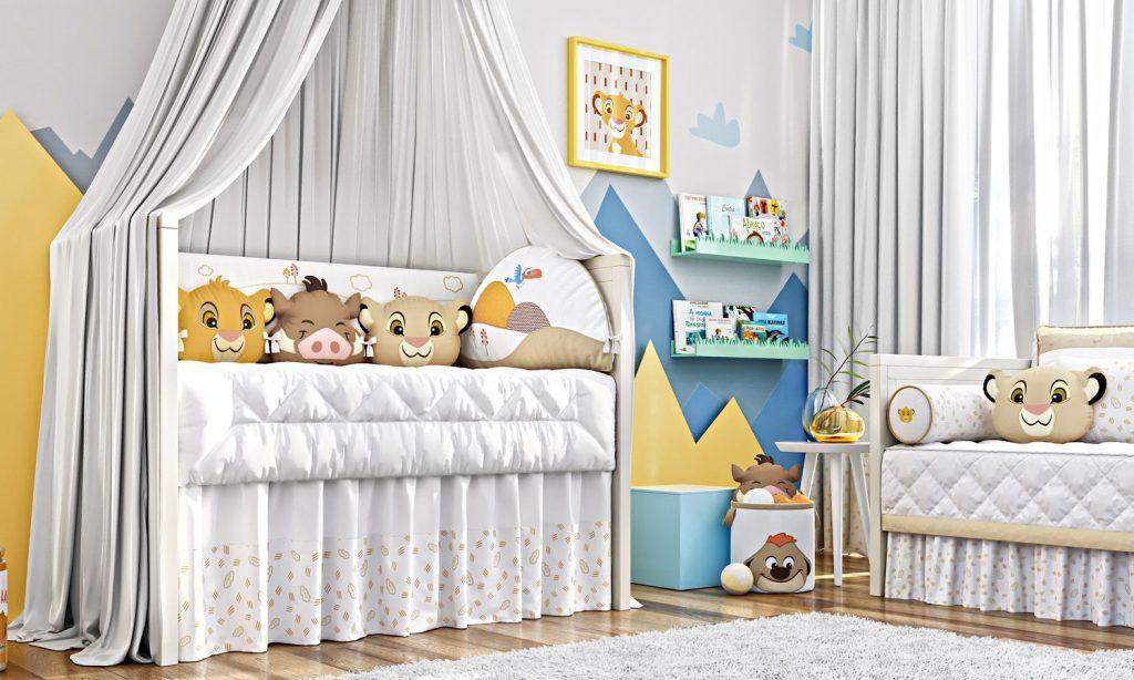 quarto para bebê disney