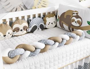 quarto de bebê natural chic