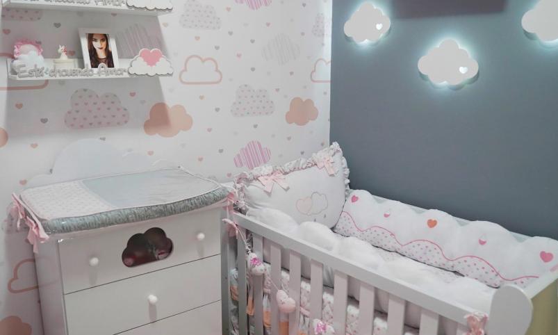 iluminação para o quarto de bebê