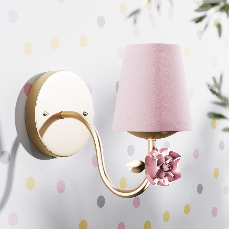 arandela-provencal-com-flor-dourado-e-rosa-310489