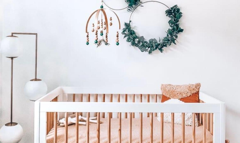 plantas no quarto de bebê